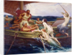 Ulysses and the Sirens, 1910 by Herbert James Draper