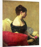 Portrait of Madame Maitre by Ignace Henri Jean Fantin-Latour