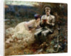 The Temptation of Sir Percival, 1894 by Arthur Hacker