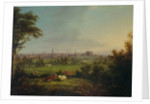 Leeds from the Meadows, c.1825 by Joseph Rhodes
