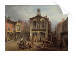 The Old Moot Hall, Leeds, c.1825 by Joseph Rhodes