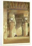 Dendera ancient Tentyris, 1838 by David Roberts