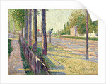 The Railway Junction at Bois-Colombes, or La Route Pontoise, 1886 by Paul Signac