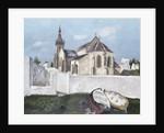 Treboul Church, Brittany, 1930 by Christopher Wood