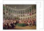 The Irish House of Commons, 1780 by Francis Wheatley