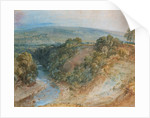 Valley of the Washburn, 1818 by Joseph Mallord William Turner