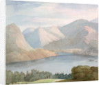 Ullswater from Gowbarrow Park, 1786 by Francis Towne