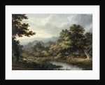 Forest Glade with Pool and Deer by John Glover