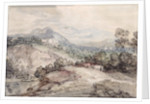 A Hilly Landscape, 1785 by Thomas Gainsborough