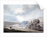 Lake amongst Hills by Edward Dayes