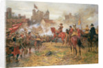 Cromwell at the Storming of Basing House, 1900 by Ernest Crofts