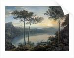 Lake Albano and Castel Gandolfo by John Robert Cozens