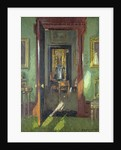 Interior, Rutland Lodge: vista through open doors, 1920 by Patrick William Adam