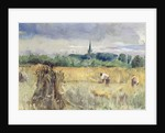 Harvest Field, Stratford-upon-Avon by John William Inchbold