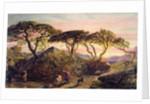 Sunset by Samuel Palmer