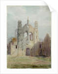 Kirkstall Abbey from the West Front by Joseph Rhodes