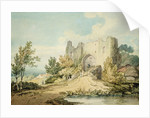 Llanblethian Castle Gateway, 1797 by Joseph Mallord William Turner