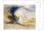 Mount St Gothard by Joseph Mallord William Turner