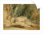 Lonely Dell, Wharfedale, c.1818 by Joseph Mallord William Turner