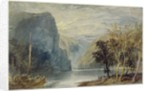 The Lorelei Rock, c.1817 by Joseph Mallord William Turner