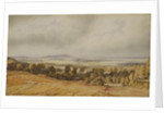 View of Broadway Hill, Worcester by William Turner