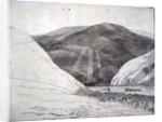 Croidon Hill, 1785 by Francis Towne