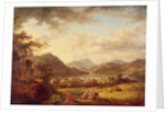 Ullswater from Gowbarrow, 1801 by Julius Caesar Ibbetson
