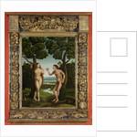 Adam and Eve by Jan van Scorel