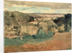 Barnard Castle from Towler Hill by John Sell Cotman