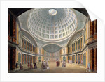 Interior of the Pantheon, Oxford Road, London by William Hodges