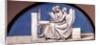 Music, lunette from a series of six, c.1847 by Sir John Everett Millais