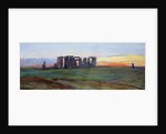 Stonehenge, 1872 by John William Inchbold