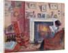 Interior, 31 Mornington Crescent by Spencer Frederick Gore