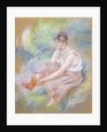 After the Bath, c.1890 by Pierre-Auguste Renoir
