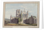 North West View of Kirkstall Abbey, 1777 by Moses Griffiths