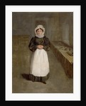 Portrait of a Housekeeper at Bramham Park, Yorkshire, identified as Mrs Brown, c.1822 by George Garrard