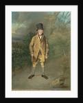 Portrait of a Gardener from Bramham Park, Yorkshire, c.1822 by George Garrard