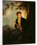 Portrait of the Artist's Son, J.C. Ibbetson Jnr., 1801 by Julius Caesar Ibbetson