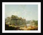 A Farmyard in Kent, 1793 by Julius Caesar Ibbetson