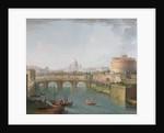 View of the Tiber, c.1700-77 by Antonio Joli