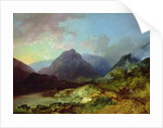 Landscape in the Lake District by Philip James Loutherbourg