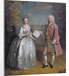Portrait of Henry 7th Viscount Irwin and his Wife Anne by Philippe Mercier