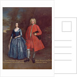 Portrait of Rich, 5th Viscount Irwin and his Wife Anne, c.1715-20 by Jonathan Richardson