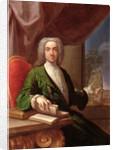Portrait of Sir Edward Gascoigne, 6th Baronet, 1724 by Francesco Trevisani