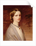 Portrait of Emily, Mrs Meynell Ingram by H. Taylor