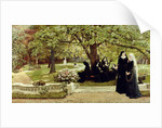 The Convent Garden, 1878 by Francis S. Walker