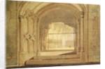 Christchurch Hall, Oxford, c.1800 by Joseph Mallord William Turner