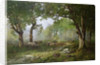 The Forest of Fontainebleau, 1890 by Leon Richet