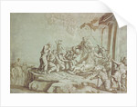 Adoration of the Shepherds, 1784 by Johann Gottlieb Prestel