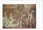 The Adoration of the Shepherds, engraved by Elishah Kirkhall by Perino del Vaga